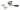 Dörrhandtag HABO A6782 inkl. nyckelskylt Svart/Krom