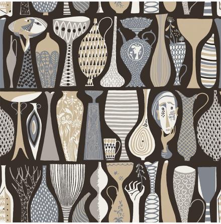 Tapet Boråstapeter Scandinavian Designers 2 Pottery 1758