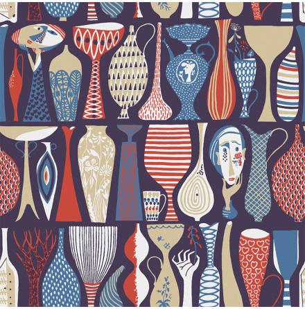 Tapet Boråstapeter Scandinavian Designers 2 Pottery 1760