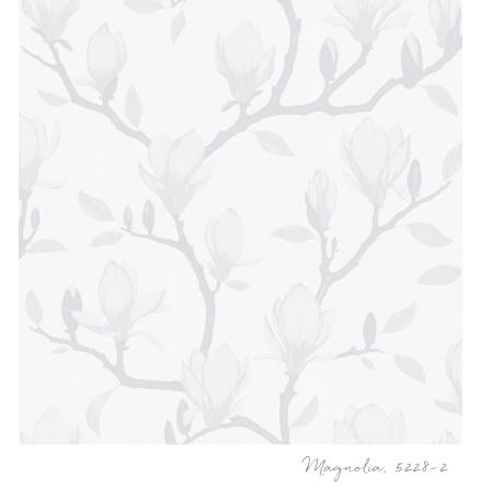 Tapet Tapetstudion Blomstertiden Magnolia 5228-2