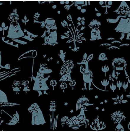 Tapet Paintpart Moomin 5164-1