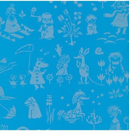 Tapet Paintpart Moomin 5164-4