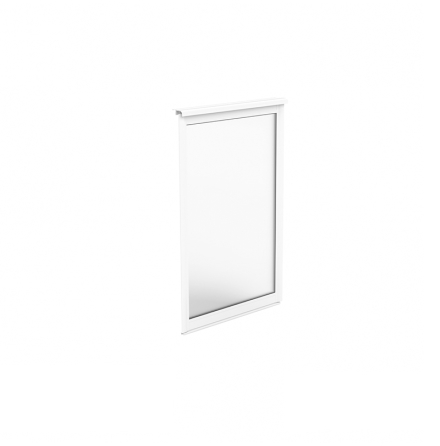 Fast Fönsterparti 1-delat Halle Fritid Primo Enkelglas Vit