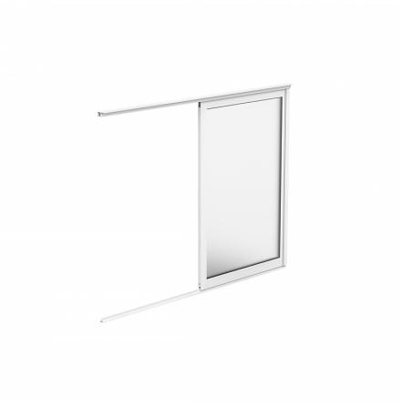Skjutbart Fönsterparti 1-delat Halle Fritid Primo Enkelglas Vit