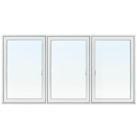 SIDESWING 3-LUFT  TRARYD OPTIMAL 3-GLAS VITL ALUMINIUM