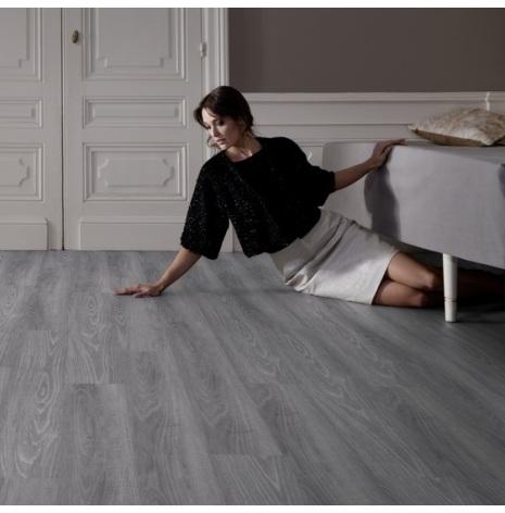 vinylgolv gerflor virtuo clic 0288 club grey bygggrossen. Black Bedroom Furniture Sets. Home Design Ideas