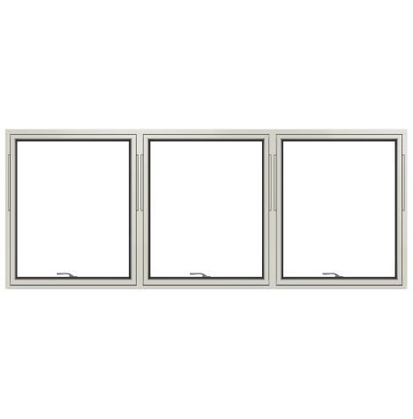 Vridfönster Elitfönster Vision 3-glas treluft Vitlackerad Alu ... ba861d4b39ed5