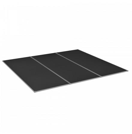 Komplett Kanalplasttak Halle Isolux 16mm Rök