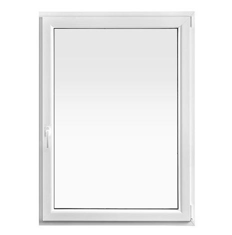 SIDOHÄNGT DREH+KIPP DRUTEX IGLO 5 CLASSIC 3-GLAS PVC VIT