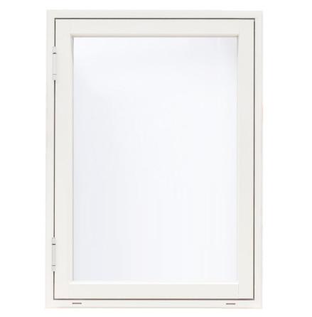 SIDOHÄNGT FÖNSTER WESTCOAST WINDOWS CLASSIC 3-GLAS VIT ALU