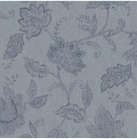 Tapet Boråstapeter Oriental Dreams Indigo Bloom 1926