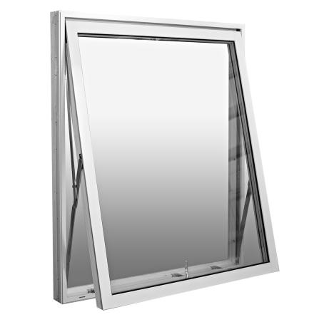 VRIDFÖNSTER WESTCOAST WINDOWS DESIGN 3-GLAS VIT ALU